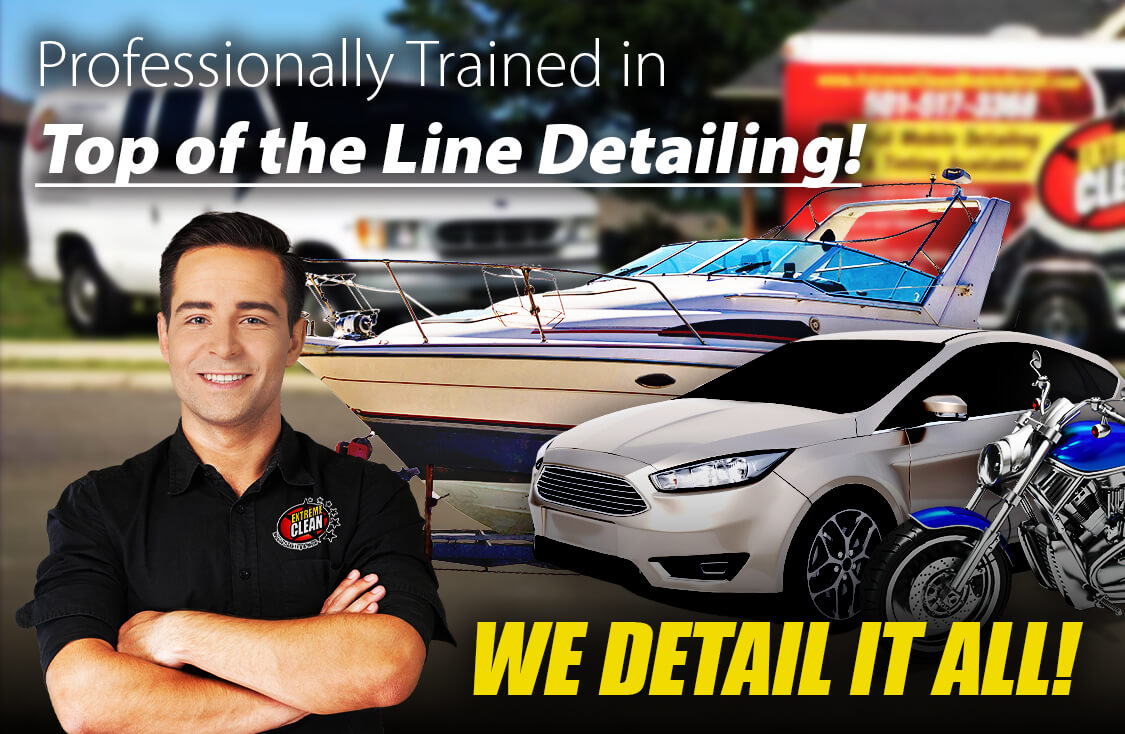 Professionally Trained in Top Of The Line Detailing!